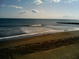2007.12.31の宮崎市の波