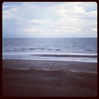 2012年9月2日午前の木崎浜